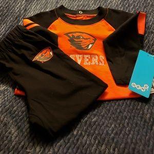 Other - 2 T Boy 2- PC. Oregon state  shirt & pants
